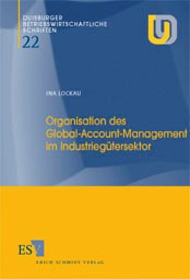 Organisation des Global-Account-Management im Industriegütersektor | Lockau, 2000 | Buch (Cover)