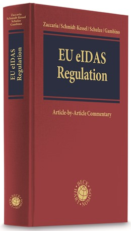 Abbildung von Zaccaria / Schmidt-Kessel / Schulze / Gambino | EU eIDAS Regulation | 2020 | Regulation (EU) 910/2014 on el...