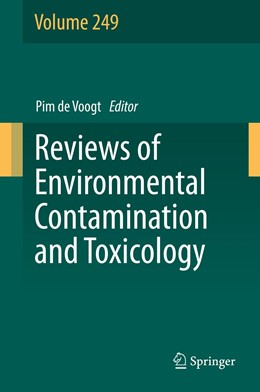 Abbildung von de Voogt   Reviews of Environmental Contamination and Toxicology Volume 249   1. Auflage   2019   249   beck-shop.de