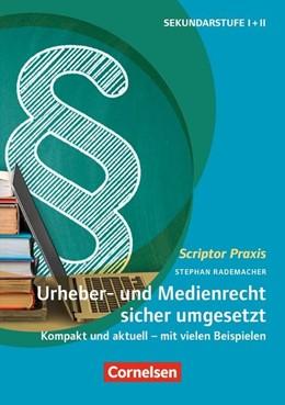 Abbildung von Rademacher | Urheber- und Medienrecht sicher umgesetzt im Schulalltag | 1. Auflage | 2019 | beck-shop.de