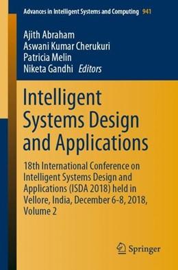 Abbildung von Abraham / Cherukuri | Intelligent Systems Design and Applications | 1. Auflage | 2019 | beck-shop.de