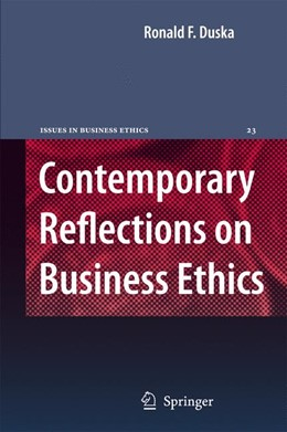 Abbildung von Duska | Contemporary Reflections on Business Ethics | 2006 | 23