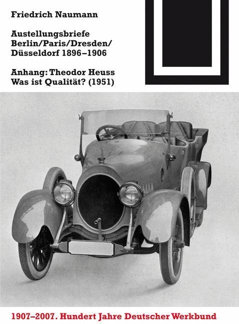 Abbildung von Naumann | Ausstellungsbriefe Berlin, Paris, Dresden, Düsseldorf 1896-1906 | 2007