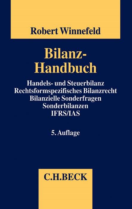 Bilanz-Handbuch | Winnefeld | 5., vollständig überarbeitete und erweiterte Auflage, 2015 | Buch (Cover)