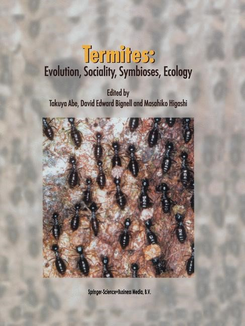 Termites: Evolution, Sociality, Symbioses, Ecology | Abe / Bignell / Higashi, 2000 | Buch (Cover)