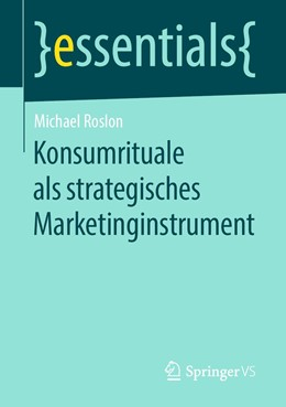 Abbildung von Roslon | Konsumrituale als strategisches Marketinginstrument | 1. Auflage | 2019 | beck-shop.de