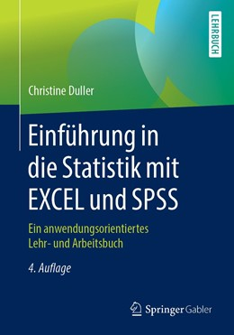Abbildung von Duller | Einführung in die Statistik mit EXCEL und SPSS | 4. Auflage | 2019 | beck-shop.de