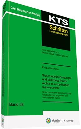 Abbildung von Hartmann   Sicherungsübertragungen und besitzlose Pfandrechte im europäischen Insolvenzrecht   1. Auflage   2019   beck-shop.de