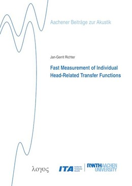 Abbildung von Richter | Fast Measurement of Individual Head-Related Transfer Functions | 2019 | 30