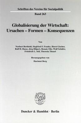 Abbildung von Berg | Globalisierung der Wirtschaft: Ursachen - Formen - Konsequenzen. | 1999 | 263