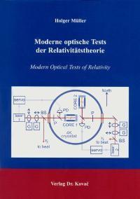 Moderne optische Tests der Relativitätstheorie | Müller, 2004 | Buch (Cover)