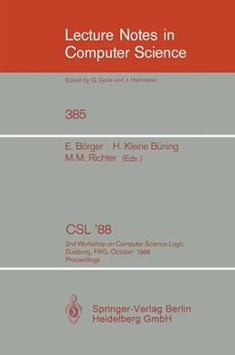 Abbildung von Börger / Kleine Büning / Richter   CSL'88   1989   2nd Workshop on Computer Scien...   385