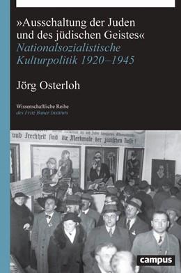 Abbildung von Osterloh | »Ausschaltung der Juden und des jüdischen Geistes« | 1. Auflage | 2020 | 34 | beck-shop.de