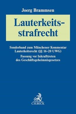Abbildung von Brammsen | Lauterkeitsstrafrecht | 3. Auflage | 2020 | beck-shop.de