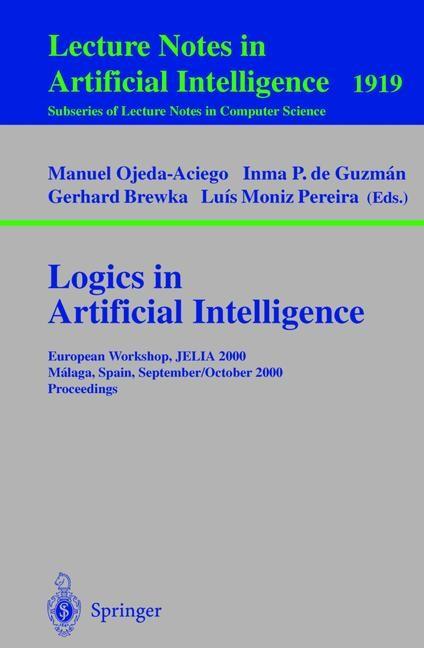 Logics in Artificial Intelligence | Ojeda-Aciego / Guzman / Brewka / Pereira, 2000 | Buch (Cover)