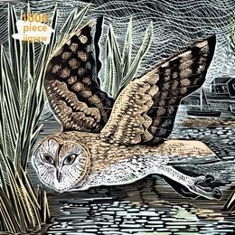 Abbildung von Adult Jigsaw Puzzle Angela Harding: Marsh Owl | 1. Auflage | 2019 | beck-shop.de
