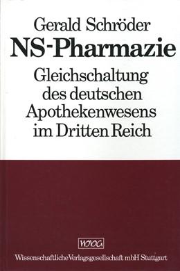 Abbildung von Schröder | NS-Pharmazie | 1988 | Gleichschaltung des deutschen ...