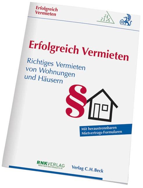 Erfolgreich Vermieten, 2009 | Buch (Cover)