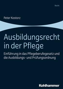 Abbildung von Kostorz | Ausbildungsrecht in der Pflege | 2019 | Einführung in das Pflegeberufe...