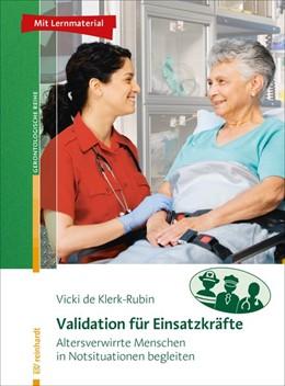 Abbildung von De Klerk-Rubin | Validation für Einsatzkräfte | 1. Auflage | 2019 | beck-shop.de