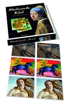 Abbildung von Meisterwerke der Kunst - Das Memo-Spiel | 2019