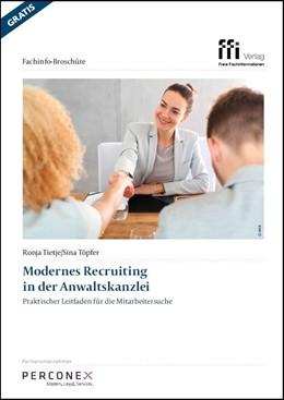 Abbildung von Tietje / Töpfer | Modernes Recruiting in der Anwaltskanzlei | 1. Auflage | 2019 | beck-shop.de