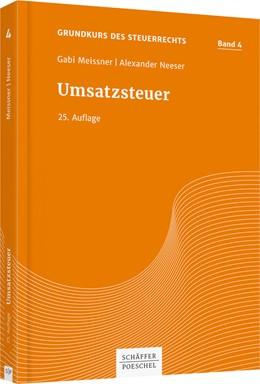 Abbildung von Meissner / Neeser   Umsatzsteuer   25. Auflage   2019