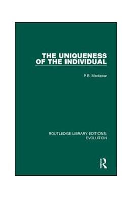 Abbildung von Medawar   The Uniqueness of the Individual   2019   8
