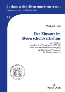 Abbildung von Dust | Der Zinssatz im Steuerschuldverhältnis | 1. Auflage | 2019 | 35 | beck-shop.de