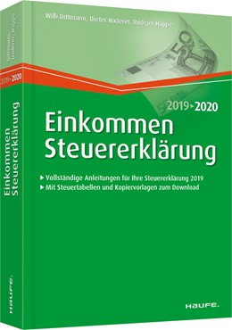 Abbildung von Dittmann / Haderer | Einkommensteuererklärung 2019/2020 | 1. Auflage | 2019 | 03125 | beck-shop.de