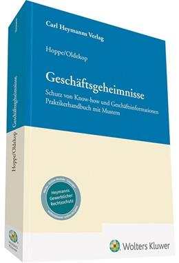 Abbildung von Hoppe / Oldekop | Geschäftsgeheimnisse | 2019 | Schutz von Know-how und Geschä...