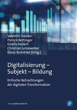 Abbildung von Dander / Bettinger   Digitalisierung – Subjekt – Bildung   1. Auflage   2020   beck-shop.de
