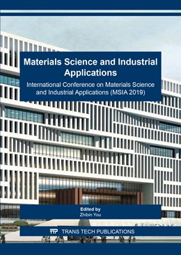 Abbildung von You | Materials Science and Industrial Applications | 2019 | International Conference on Ma... | Volume 953