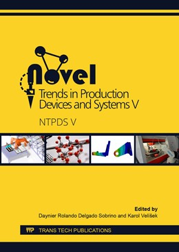 Abbildung von Delgado Sobrino / Vel?ek | Novel Trends in Production Devices and Systems V | 1. Auflage | 2019 | Volume 952 | beck-shop.de