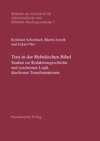 Abbildung von Achenbach / Arneth / Otto | Tora in der Hebräischen Bibel | 2007