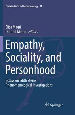 Abbildung von Magrì / Moran   Empathy, Sociality, and Personhood   1. Auflage   2018   94   beck-shop.de