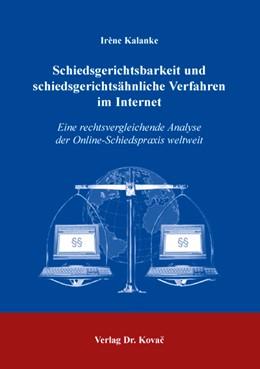 Abbildung von Kalanke | Schiedsgerichtsbarkeit und schiedsgerichtsähnliche Verfahren im Internet | 1. Auflage | 2004 | 2 | beck-shop.de