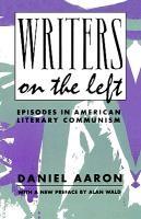 Abbildung von Aaron   Writers on the Left   1992