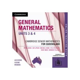 Abbildung von Jones / Evans / Lipson | CSM QLD General Mathematics Units 3 and 4 Online Teaching Suite (Card) | 2019