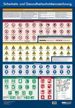 Abbildung von Wandtafel Sicherheits- und Gesundheitsschutzkennzeichnung   3. Auflage   2019   beck-shop.de