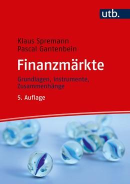 Abbildung von Spremann / Gantenbein   Finanzmärkte   5. Auflage   2019   beck-shop.de