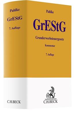 Abbildung von Pahlke   Grunderwerbsteuergesetz: GrEStG   7. Auflage   2020