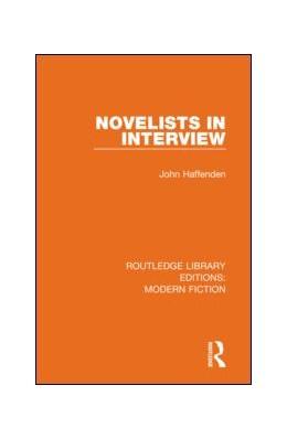 Abbildung von Haffenden   Novelists in Interview   1. Auflage   2019   17   beck-shop.de