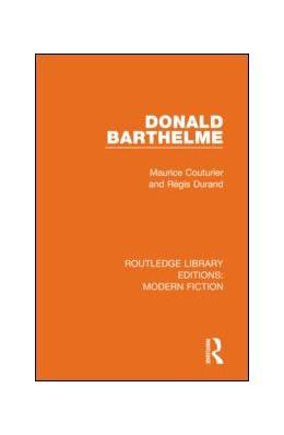 Abbildung von Couturier / Durand | Donald Barthelme | 1. Auflage | 2019 | beck-shop.de