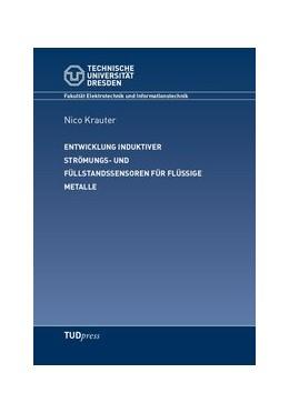 Abbildung von Krauter | Entwicklung induktiver Strömungs- und Füllstandssensoren für flüssige Metalle | 1. Auflage | 2018 | beck-shop.de