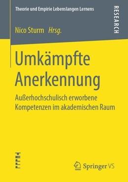 Abbildung von Sturm | Umkämpfte Anerkennung | 1. Aufl. 2020 | 2019 | Außerhochschulisch erworbene K...