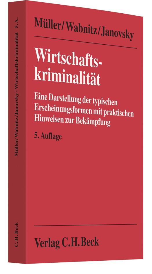 Wirtschaftskriminalität | Wabnitz / Janovsky / Natale / Schmitt | 5. Auflage | Buch (Cover)