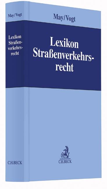 Lexikon Straßenverkehrsrecht   May / Vogt, 2016   Buch (Cover)