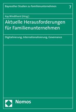 Abbildung von Windthorst (Hrsg.)   Aktuelle Herausforderungen für Familienunternehmen   2020   Digitalisierung, International...   7