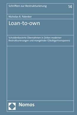 Abbildung von Palenker   Loan-to-own   1. Auflage   2019   14   beck-shop.de